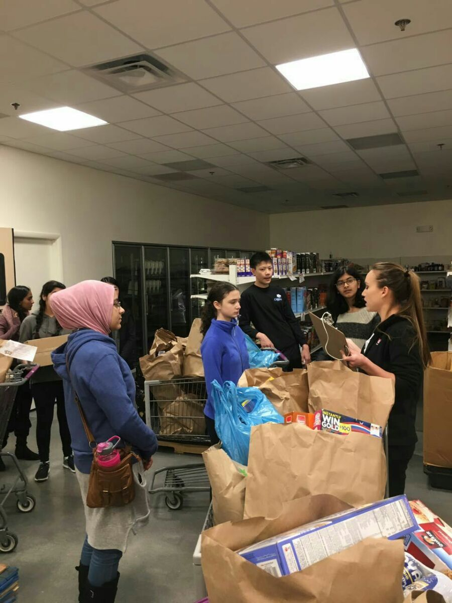 Howard County Food Bank Feed The Future Atholton High School